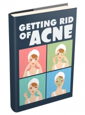 Getting Rid Of Acne eBook with private label rights