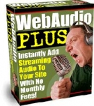 WebAudio Plus Software with Resell Rights