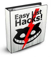 Easy List Hacks eBook with Private Label Rights