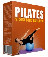 Pilates Video Site Builder Software with Master Resell Rights/Giveaway Rights