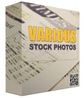 Various Stock Photos V2 Graphic with Resell Rights