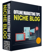 Offline Marketing Tips PLR Niche Blog Template with Private Label Rights
