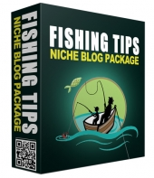 Fishing Tips PLR Niche Blog Template with private label rights