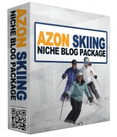 Azon Skiing PLR Online Store Template with Private Label Rights