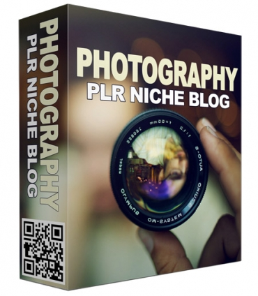 Photography PLR Niche Blog V2