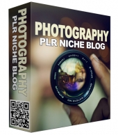 Photography PLR Niche Blog V2 Template with Private Label Rights