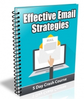 Effective Email Strategies eBook with Private Label Rights