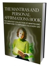 The Mantras and Personal Affirmations Book eBook with private label rights