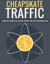 Cheapskate Traffic eBook with Private Label Rights