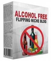Alcohol Free Flipping Niche Blog Template with private label rights