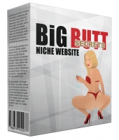 Big Butt Secrets Flipping Niche Blog Template with Personal Use Rights