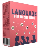 Language PLR Niche Blog V2 Template with private label rights