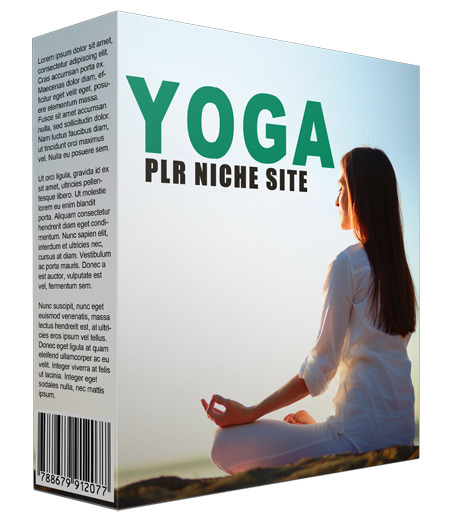 Yoga PLR Niche Website V2