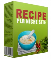 Recipe PLR Niche Blog V2 Template with private label rights