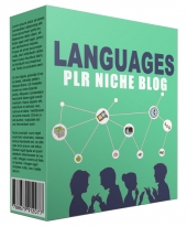 Languages PLR Niche Website V2 Template with private label rights