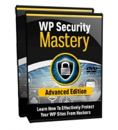 WP Security Mastery Advanced Video with Personal Use Rights
