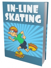 In-Line Skating eBook with private label rights