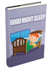 Good Night Sleep eBook with private label rights