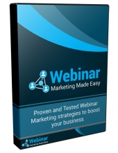 Webinar Marketing Made Easy Video with Personal Use Rights