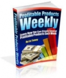Profitable Products Weekly eBook with Master Resell Rights