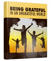 Being Grateful eBook with Master Resell/Giveaway Rights
