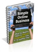 Simple Online Business eBook with Master Resell Rights