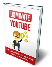 Dominate YouTube eBook with Master Resell/Giveaway Rights