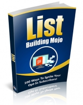 List Building Mojo V2 eBook with Private Label Rights