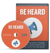 Be Heard Gold Video with Master Resell Rights