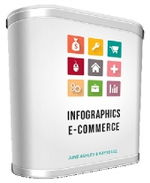 Infographics E-Commerce Expansion Graphic with private label rights