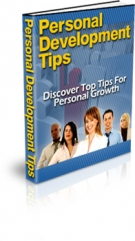 Personal Development Tips eBook with Private Label Rights