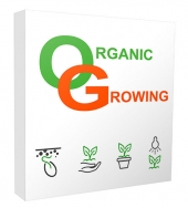New Organic Growing Niche Website Bundle Template with private label rights