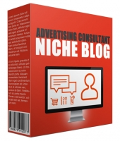 Advertising Consultant Niche Website Bundle Template with Personal Use Rights