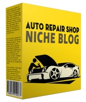 Done-for-You Auto Repair Shop Niche Website Template with Personal Use Rights