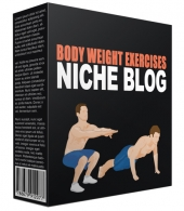 Body Weight Exercises Flipping Niche Site Template with private label rights