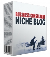 Done-For-You Business Consultant Niche Site Template with Personal Use Rights