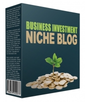 Done-For-You Business Investment Niche Site Template with private label rights