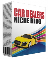 Car Dealers Niche Site Bundle Template with Personal Use Rights