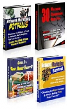 4 eBooks Private Label Rights Pack eBook with Private Label Rights