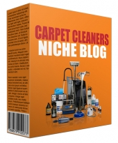 Carpet Cleaners Niche Site Pack Template with Personal Use Rights