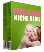 Child Eczema Flipping Niche Site eBook with Personal Use Rights