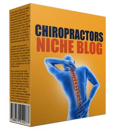 New Chiropractor Niche Site Package