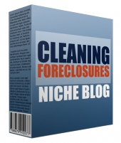 Cleaning Foreclosure Flipping Niche Site Template with Personal Use Rights
