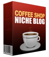 Coffee Shop Niche Site Pack Template with Personal Use Rights
