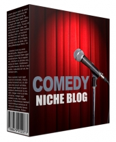 Comedy Niche Site Pack Template with Personal Use Rights