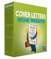 Cover Letters Flipping Niche Site Template with Personal Use Rights