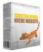 Crested Gecko Flipping Niche Site Template with Personal Use Rights