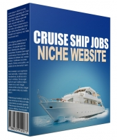 Cruise Ship Jobs Flipping Niche Site Template with private label rights