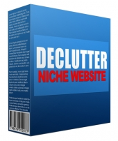 Declutter Flipping Niche Site Template with private label rights