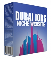 Dubai Jobs Flipping Niche Site Template with private label rights